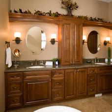 Traditional Bathroom by Cherry Creek, Inc.