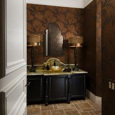Traditional Bathroom by BJ Armstrong Custom Homes