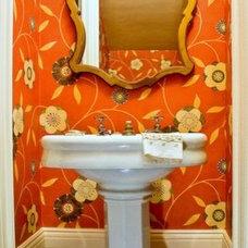 Eclectic Bathroom by Trinity Mercantile & Design