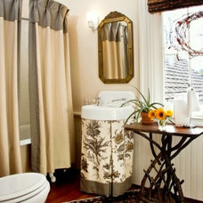 Traditional Bathroom by Trinity Mercantile & Design