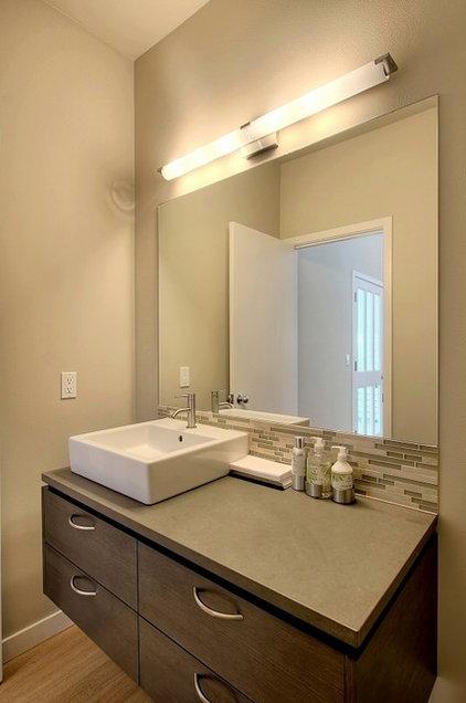 Contemporary Bathroom by Logan's Hammer Building & Renovation