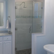Traditional Bathroom by Town Center Floors