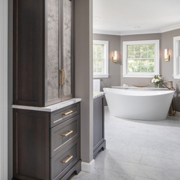 Tranquil Master Bath and Bedroom Remodel