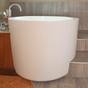 Tranquil Pacific Northwest Bathroom