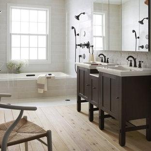 Tranquil Transitional Bathroom