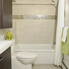 Contemporary Bathroom by LindenCraft Fine Renovation and Design