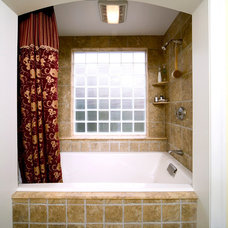 Transitional Bathroom by Pagenstecher Group