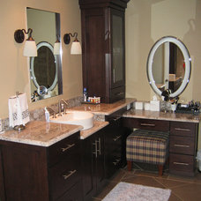 Contemporary Bathroom by Kitchens by Richards Inc