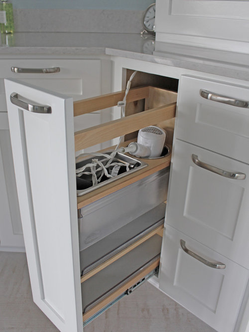 Hair Dryer Drawer | Houzz