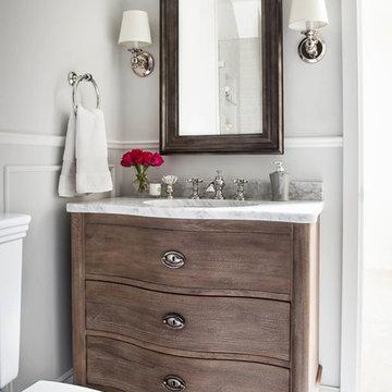 Transitional Bath Remodel
