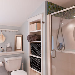 traditional bathroom by Juniper River Home Design