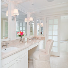 Transitional Bathroom by Avenue Interiors