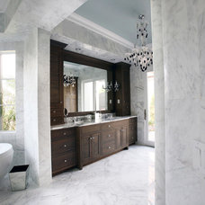 Contemporary Bathroom by Campbell Cabinetry Designs Inc.