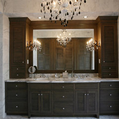 traditional bathroom by Campbell Cabinetry Designs Inc.