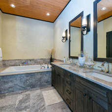 Transitional Bathroom by Total 360 Photography