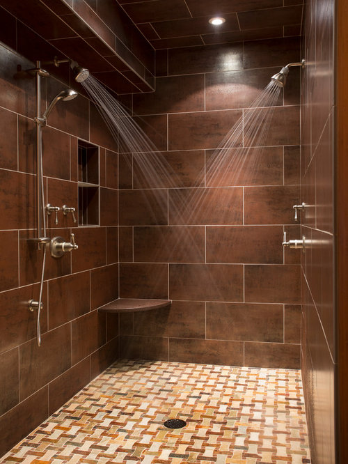 Two Shower Heads Design Ideas amp Remodel Pictures Houzz : 4221287b02797eb45667 w500 h666 b0 p0 transitional bathroom from www.houzz.com size 500 x 666 jpeg 73kB
