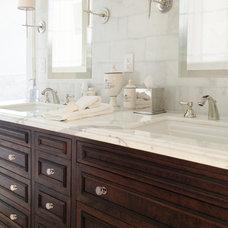 Traditional Bathroom by Courtney Blanton Interiors