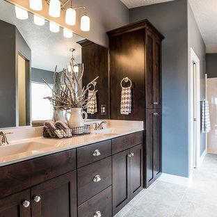 Plum And Grey Bathroom Ideas Houzz