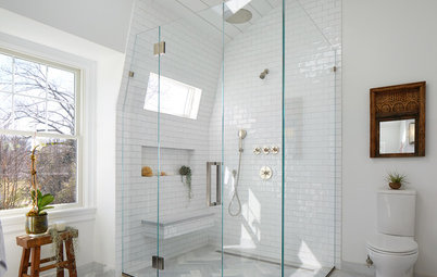 Room of the Day: Water Leak Leads to Good Things in a Master Bath
