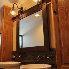 Transitional Bathroom by Gemini Corporation Building Solutions
