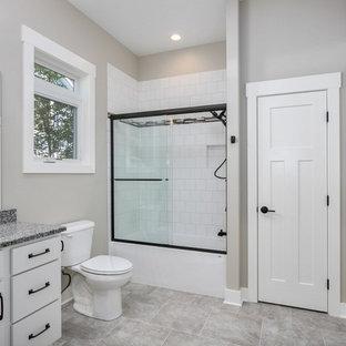75 Most Por 3/4 Bathroom Design Ideas for 2018 - Stylish 3/4 ... Houzz Bathroom Design Shower Curtains Html on black and white bathroom shower curtains, houzz home design, houzz shower tile design, bathroom shower curtains and window curtains, contemporary bathroom shower curtains, rustic bathroom shower curtains,
