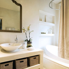 Transitional Bathroom by A-Interiors LLC