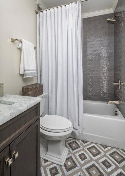Transitional Bathroom by Loftus Design, LLC