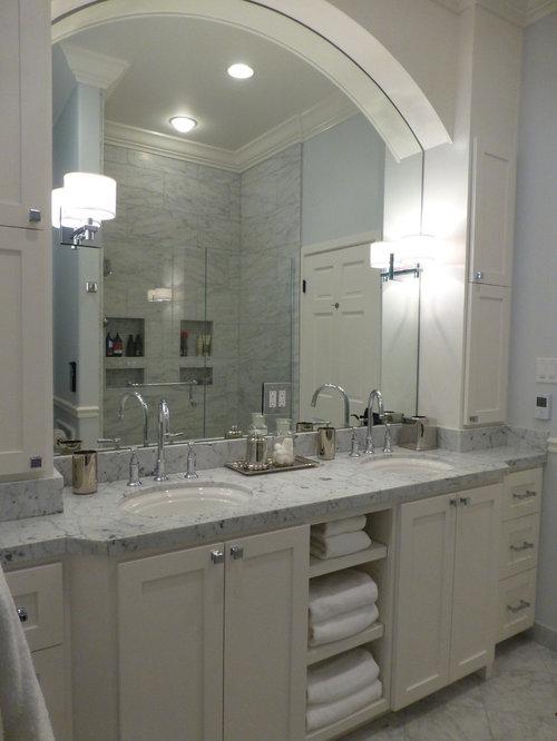 Attirant Carrera Marble Bathroom