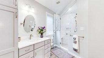 Transitional Bathroom Remodel Alexandria, VA