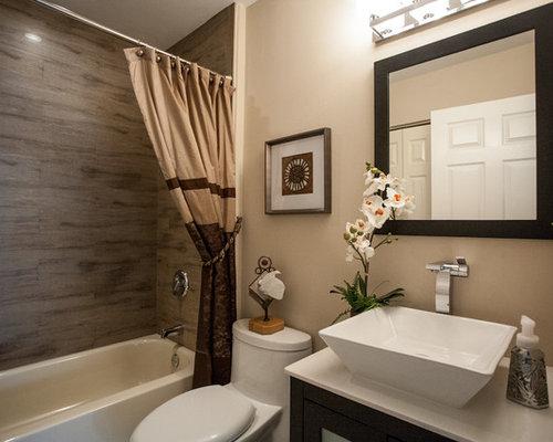 Miami Bathroom Design Ideas Renovations Photos With Black Cabinets