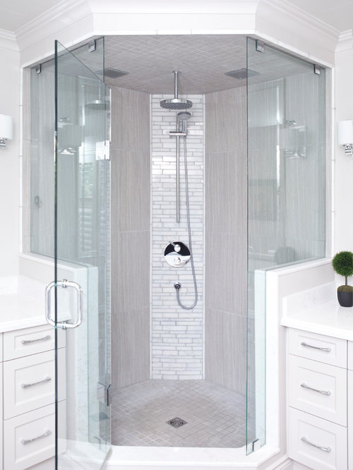 neo angle shower houzz. Black Bedroom Furniture Sets. Home Design Ideas