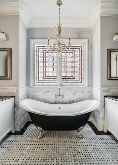 Traditional Bathroom by Shed Brand Studios