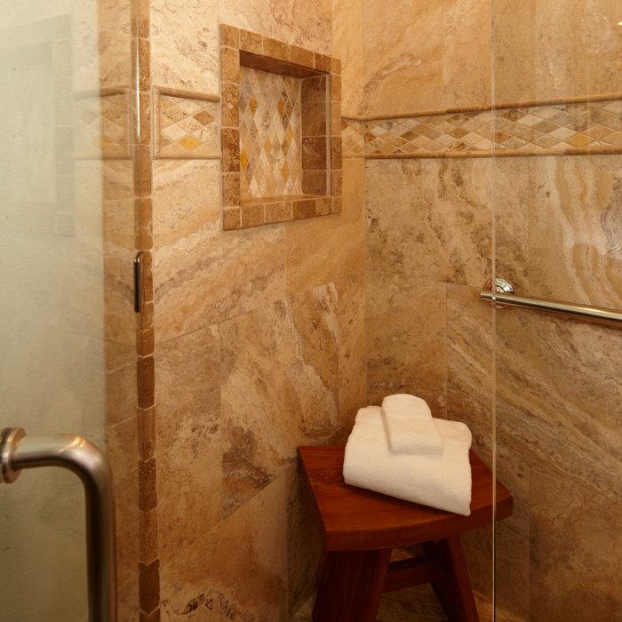 Stunning Transitional Bathroom
