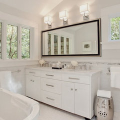 contemporary bathroom by Urrutia Design