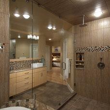 Contemporary Bathroom by Beckony Kitchens & Baths