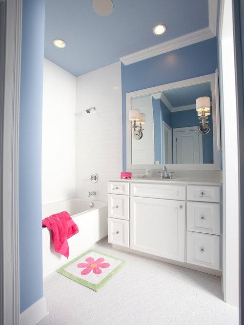 Transitional Cincinnati Bathroom Design Ideas Remodels Photos