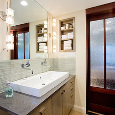 Contemporary Bathroom by Lee Kimball