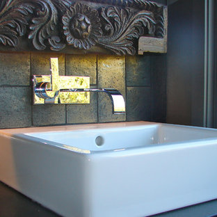 Inspiration for a mediterranean bathroom remodel in Los Angeles