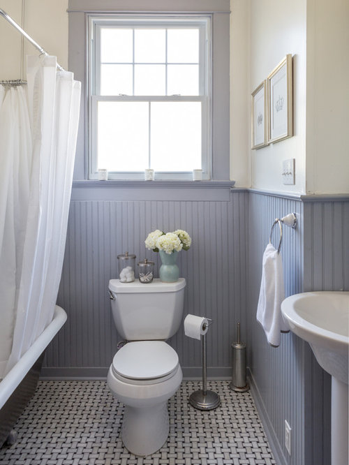 New Orleans Bathroom Design Ideas Remodels Photos With Black And White Tile