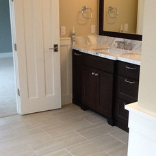 Transitional Bathroom by Contract Furnishings Mart