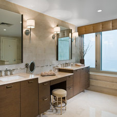 Modern Bathroom by Interiors by Mary Susan