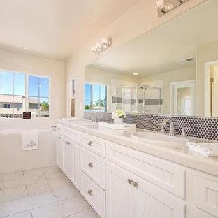Transitional bathroom photo in Orange County