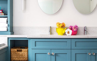 New This Week: 3 Ways to Add Color to Your Bathroom