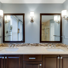 Transitional Bathroom by Reico Kitchen & Bath