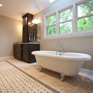 Transitional Master Bath & Walk-In Closet