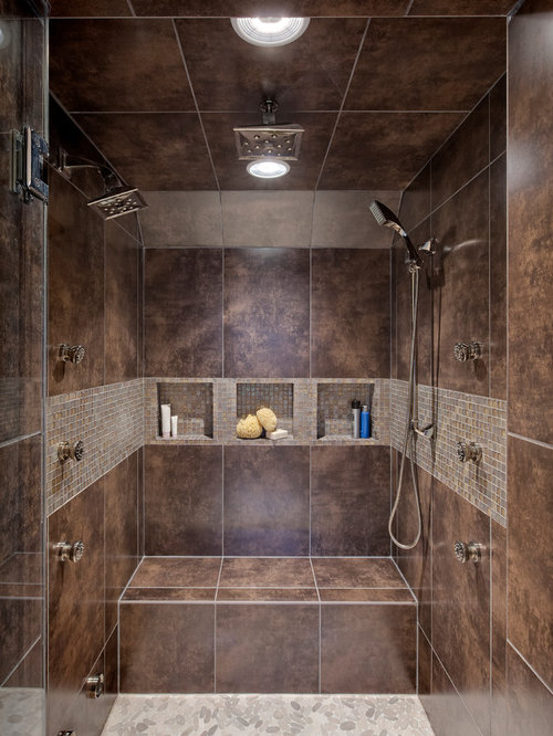 Walk In Shower Design Ideas bathroom stunning modern walk in shower designs with white ceramic wall combine green wall paint also floating wooden vanity and frame less wall mirror Walk In Shower Pictures Home Design Photos