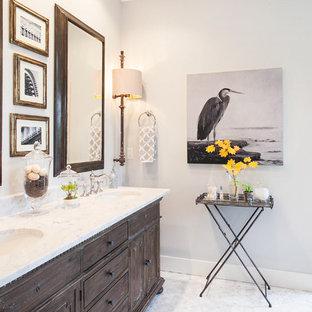 Transitional Master Bath Furniture Vanity