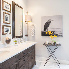Transitional Bathroom by Tracy Herbert Interiors, LLC