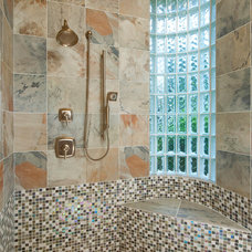 Contemporary Bathroom by Amy Guess, Allied ASID