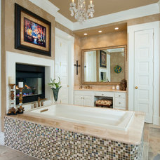 Traditional Bathroom by Amy Guess, Allied ASID